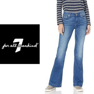 7 For All Mankind Dojo Flare Jeans - Size 26